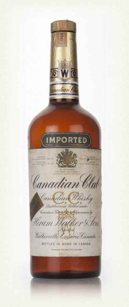 Canadian Club 6 Year Old Whisky - 1964