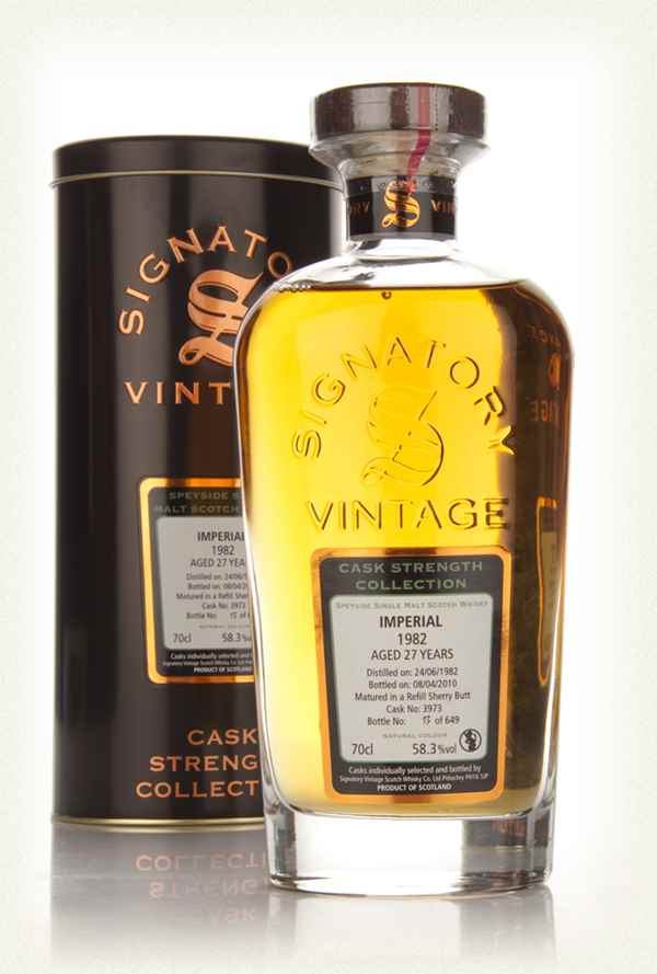 Imperial 27 Year Old 1982 - Cask Strength Collection (Signatory)