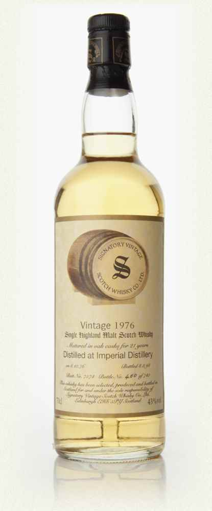 Imperial 21 Year Old 1976 (Signatory Vintage)