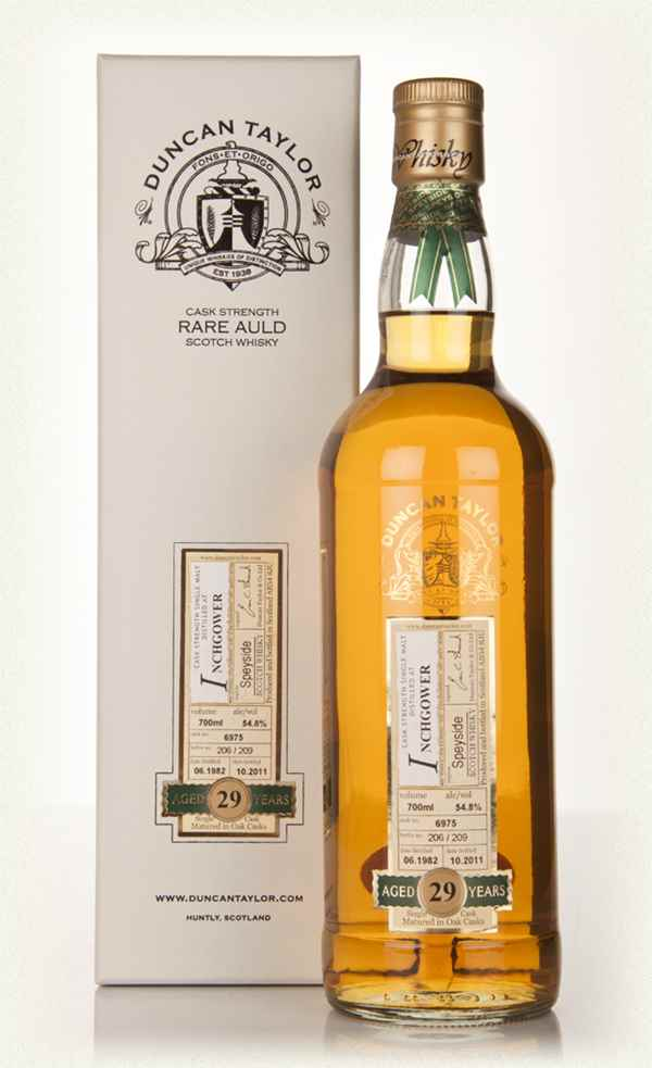 Inchgower 29 Year Old 1982 - Rare Auld (Duncan Taylor)