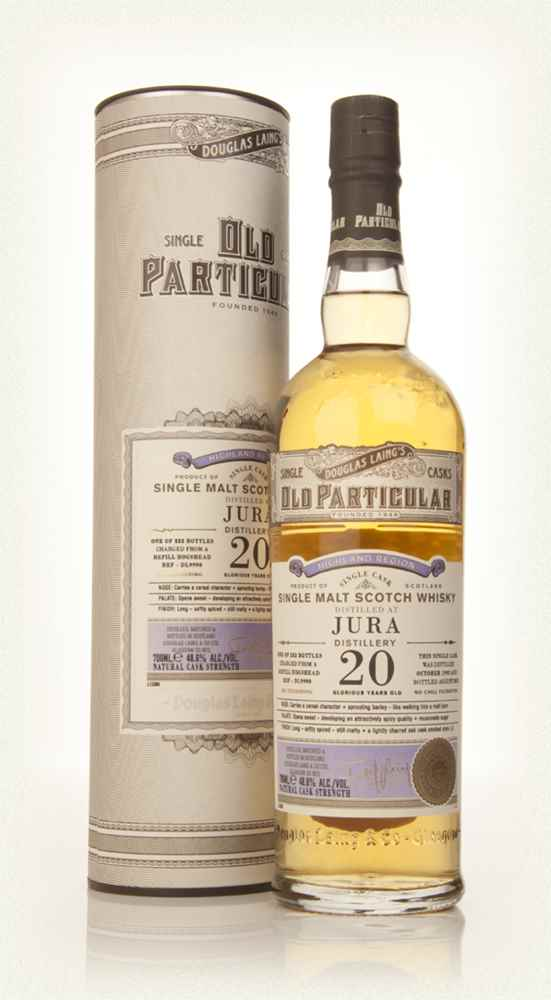 Isle of Jura 20 Year Old 1992 (cask 9990) - Old Particular (Douglas Laing)