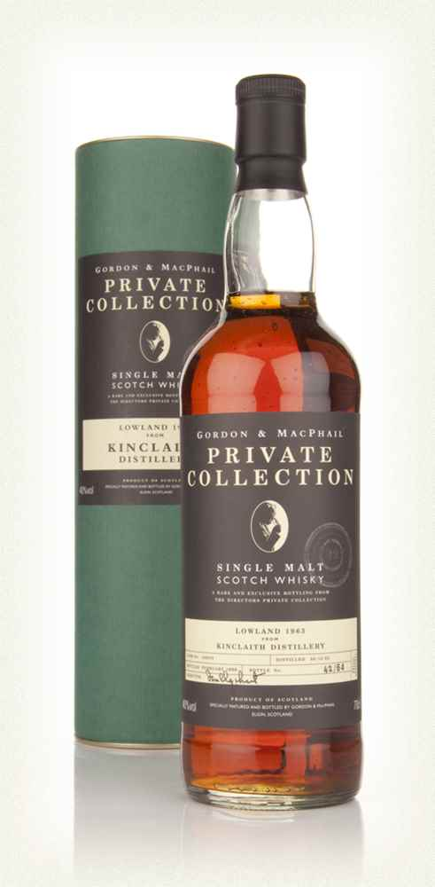 Kinclaith 32 Year Old 1963 - Private Collection (Gordon and MacPhail)