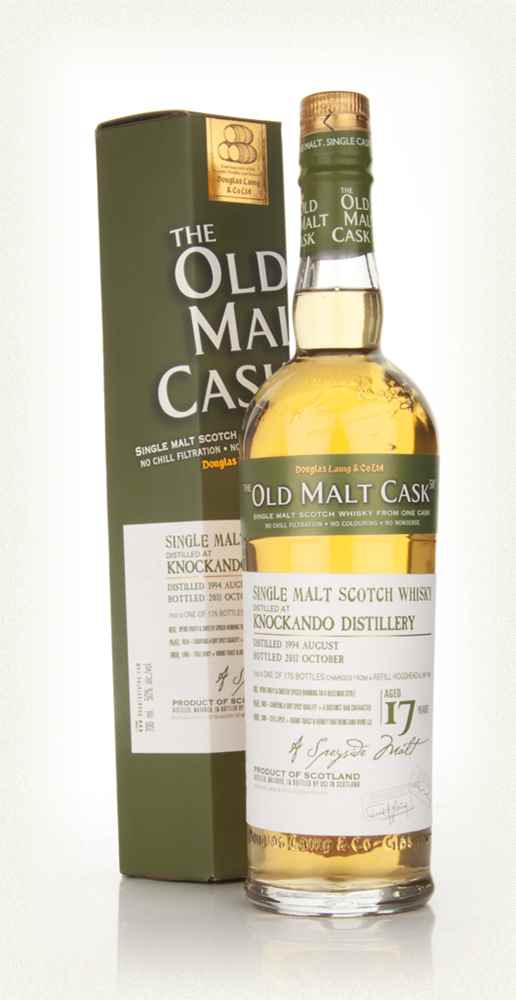 Knockando 17 Year Old 1994 - Old Malt Cask (Douglas Laing)