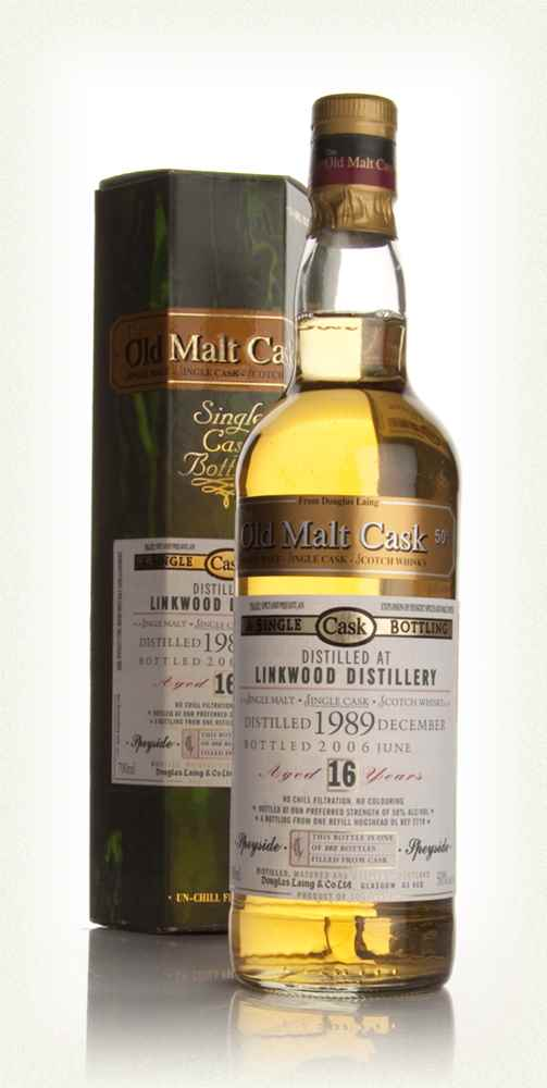 Linkwood 16 Year Old 1989 - Old Malt Cask (Douglas Laing)