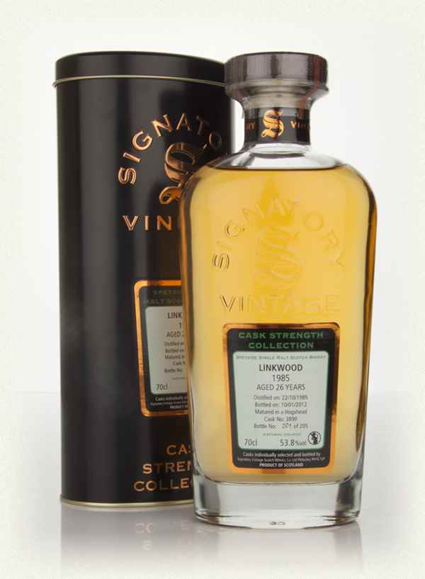 Linkwood 26 Year Old 1985 - Cask Strength Collection (Signatory)