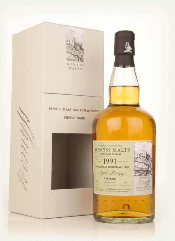 Apple Pastry 1991 - Wemyss Malts (Linkwood)