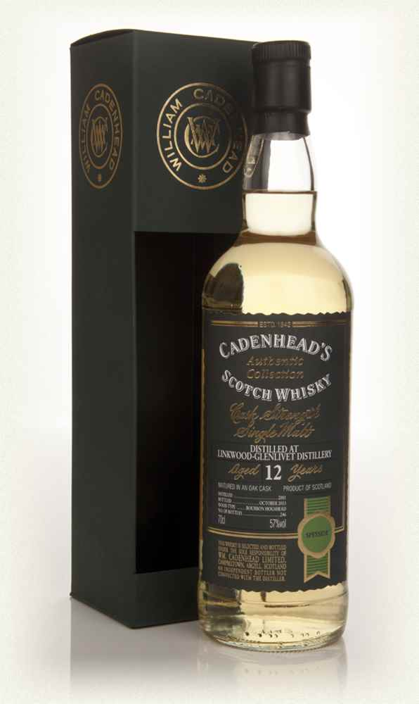 Linkwood-Glenlivet 12 Year Old 2001 - Authentic Collection (WM Cadenhead)