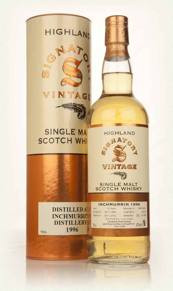 Inchmurrin 15 Year Old 1996 (casks 24+25) (Signatory)