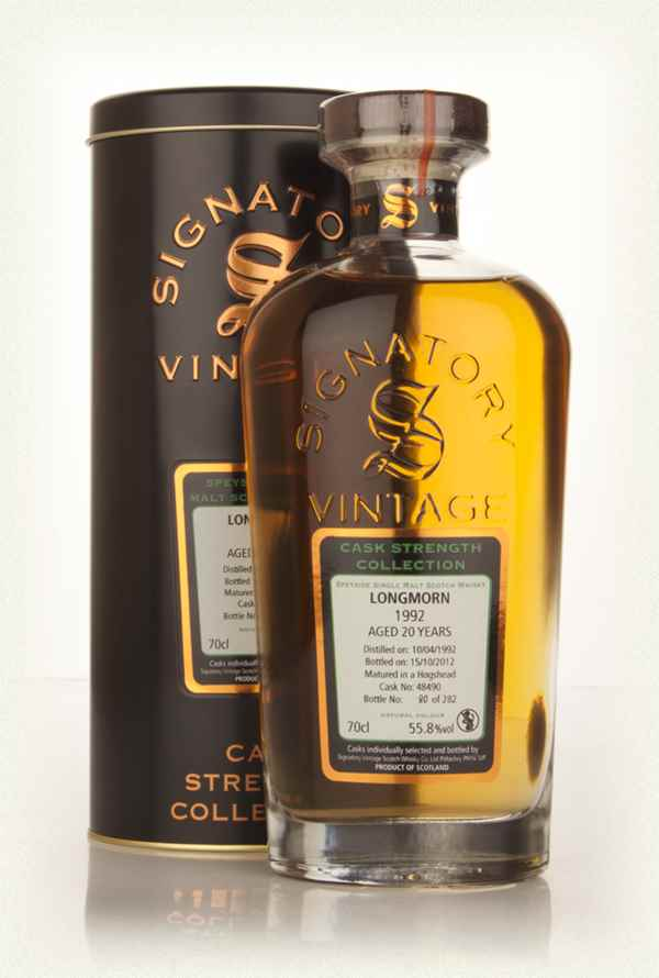 Longmorn 20 Year Old 1992 (cask 48490) - Cask Strength Collection (Signatory)