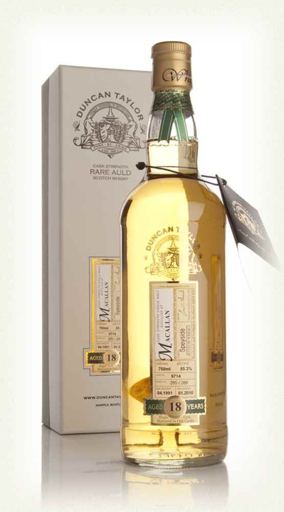 Macallan 18 Year Old 1991 - Rare Auld (Duncan Taylor)