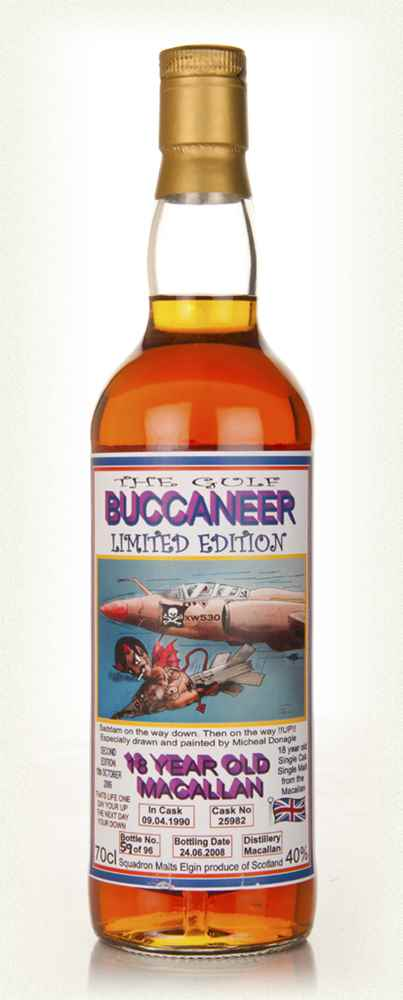 Macallan 18 Year Old - The Gulf Buccaneer