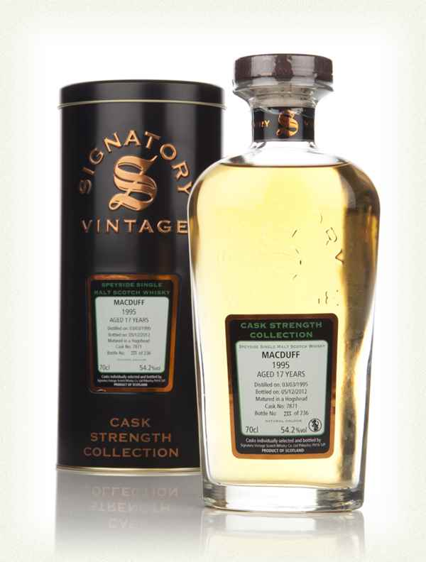 Macduff 17 Year Old 1995 (cask 7871) - Cask Strength Collection (Signatory)