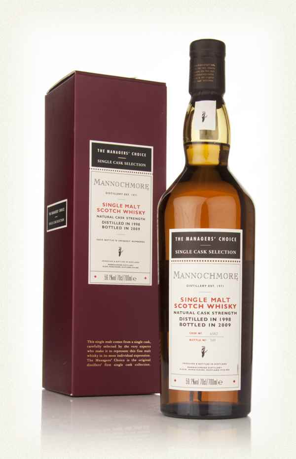 Mannochmore 1998 - Managers Choice