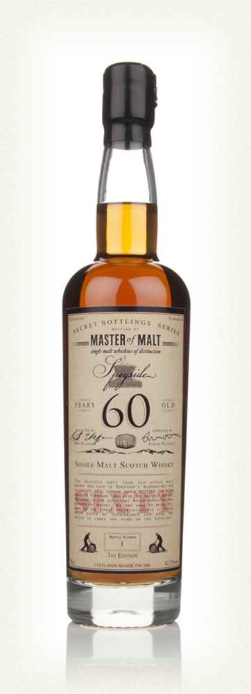 Master of Malt 60 Year Old Speyside