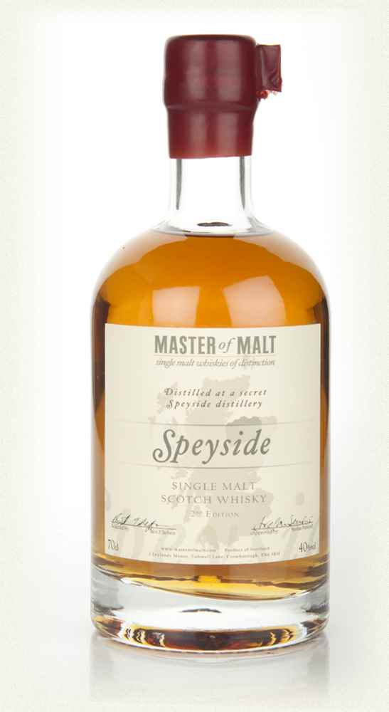 Master of Malt Speyside Single Malt 2nd Edition