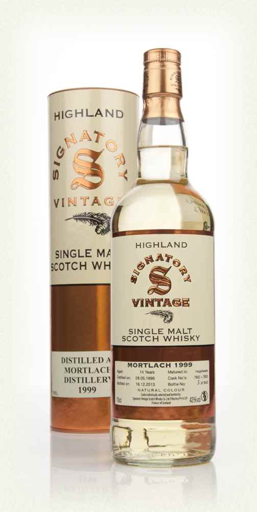 Mortlach 14 Year Old 1999 (casks 7902+7903) (Signatory)