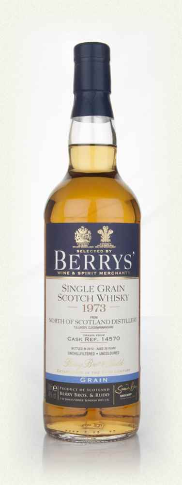 North Of Scotland 38 Year Old 1973 (Berry Bros. & Rudd)