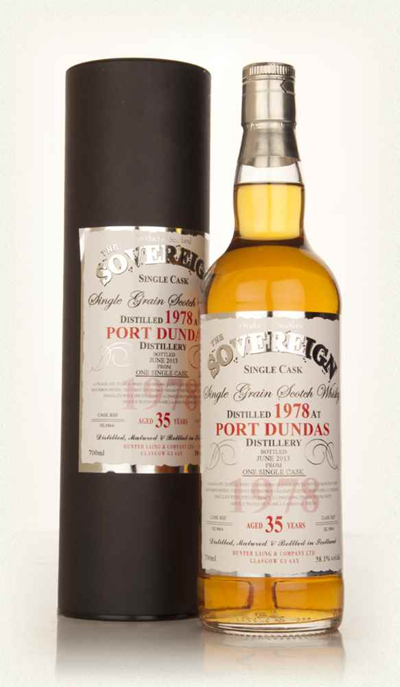 Port Dundas 35 Year Old 1978 (cask 9864) The Sovereign (Hunter Laing)