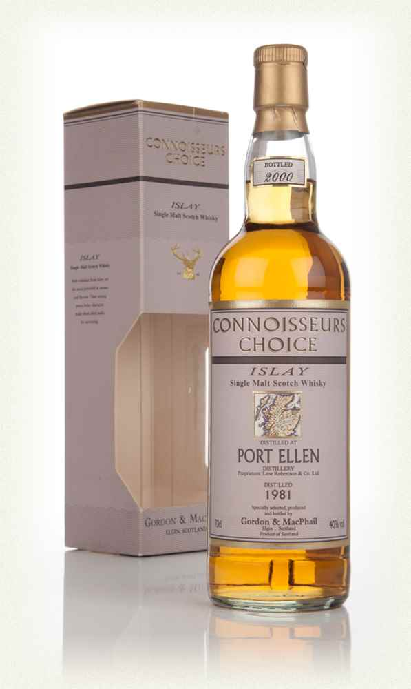 Port Ellen 1981 (bottled 2000) - Connoisseurs Choice (Gordon & MacPhail)