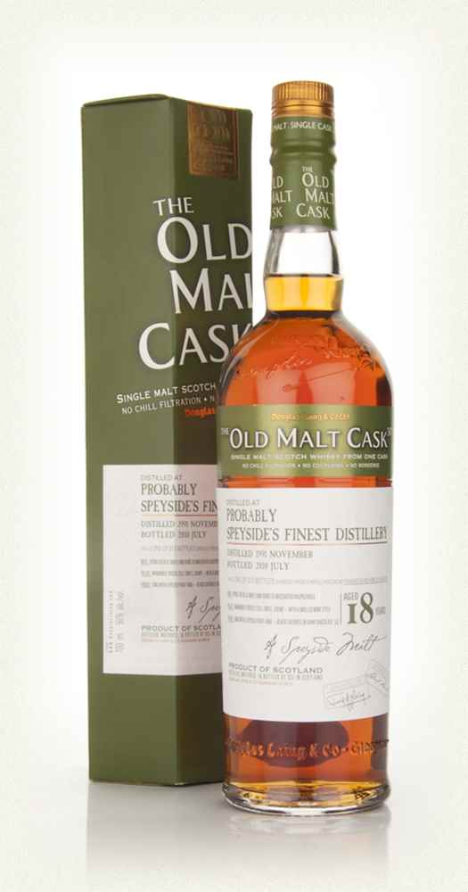 Probably Speyside's Finest 18 Year Old 1991 - Old Malt Cask (Douglas Laing)