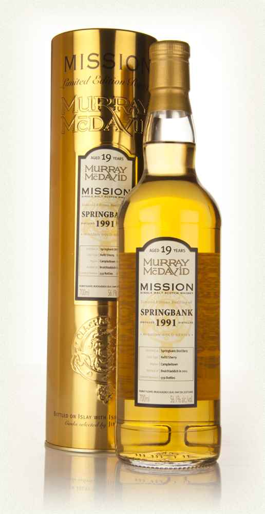 Springbank 19 Year Old 1991 - Mission (Murray McDavid)