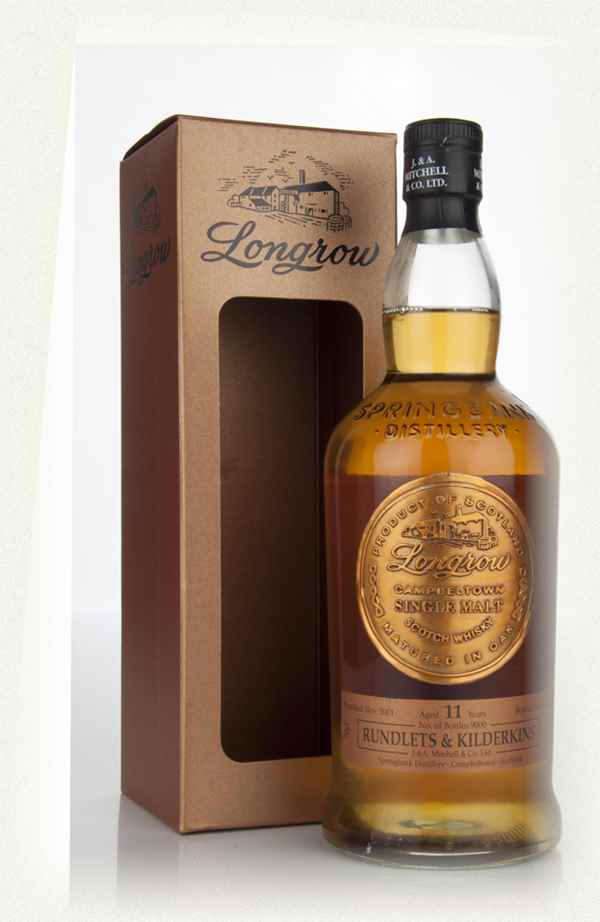 Longrow 11 Year Old 2001 - Rundlets and Kilderkins