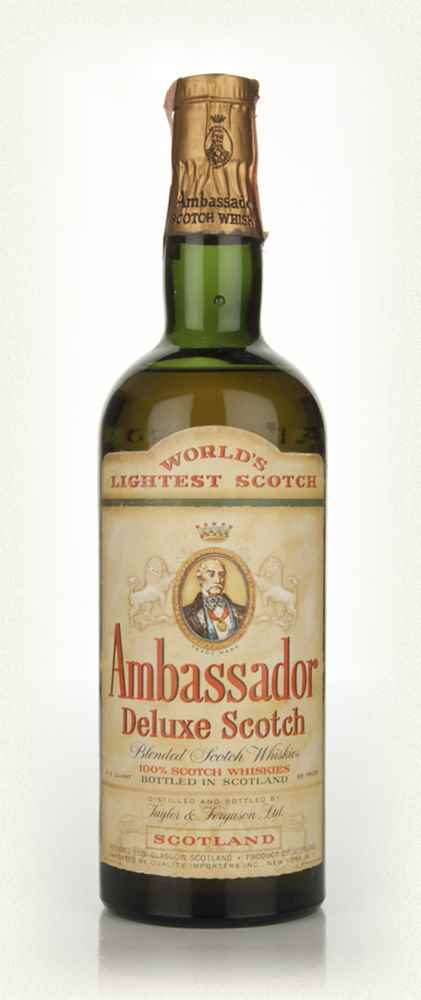 Ambassador Deluxe Scotch Whisky - 1960s