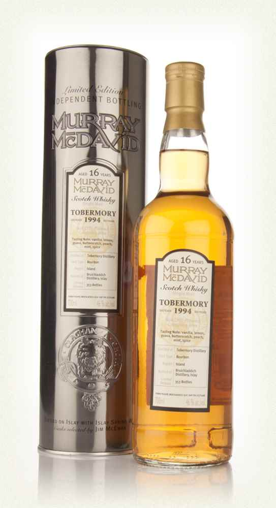 Tobermory 16 Year Old 1994 (Murray McDavid)