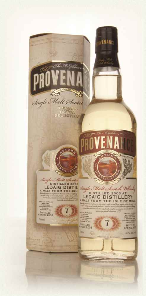 Ledaig 7 Year Old 2005 (cask 9654) - Provenance (Douglas Laing)