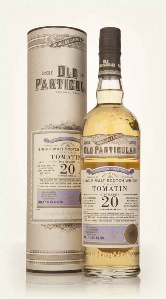 Tomatin 20 Year Old 1993 (cask 9984) - Old Particular (Douglas Laing)