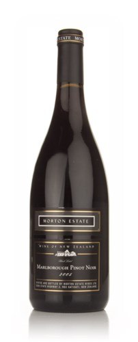Morton Estate 2005 Marlborough Pinot Noir Black Label