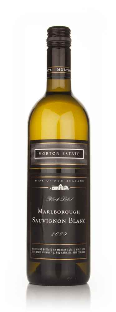 Morton Estate Black Label Marlborough Sauvignon Blanc 2009