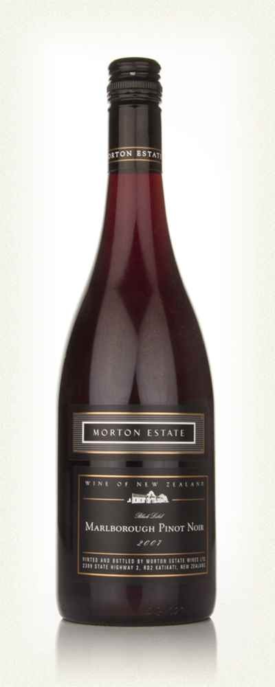 Morton Estate Black Label Marlborough Pinot Noir 2007